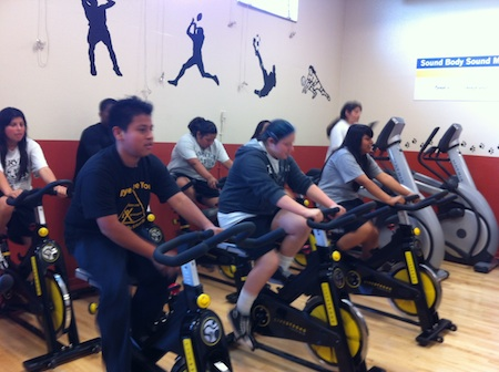 Carver Middle School gets new fitness center