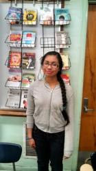 Gardena High School student Betsy Casas.