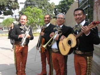 The mariachi setting the vibe | Photo credit: Skylar E Myers
