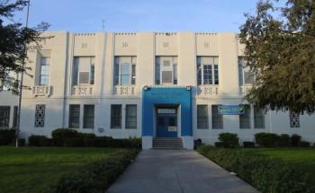 Jordan High School where Xochil founded the Gay Straight Alliance.