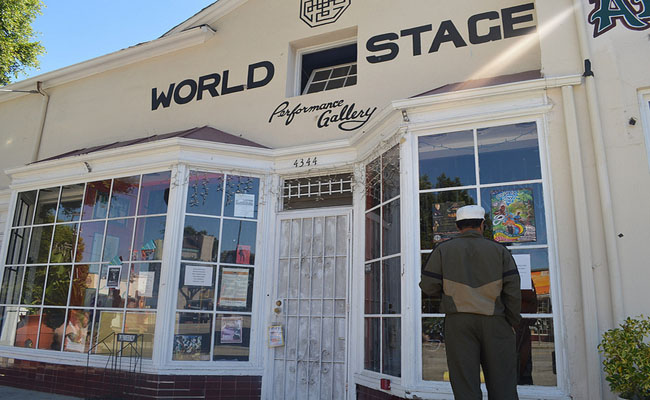 The World Stage in Leimert Park -- co-founded by poet Kamau Daàood and legendary jazz drummer Billy Higgins -- faces an uncertain future.
