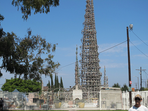 The iconic Watts Towers. | Willa Seidenberg