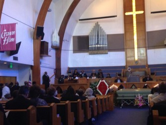 Memorial for Emily Mason Ware.  November 5, 2013.  Photo credit:  Karen Lin