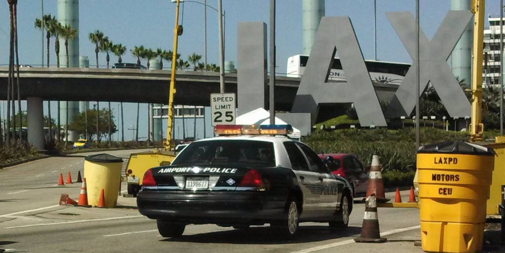 The LAX police department. | Flickr/