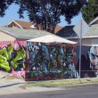 A June 2013 photo of a mural outside a home in South L.A. | Intersections