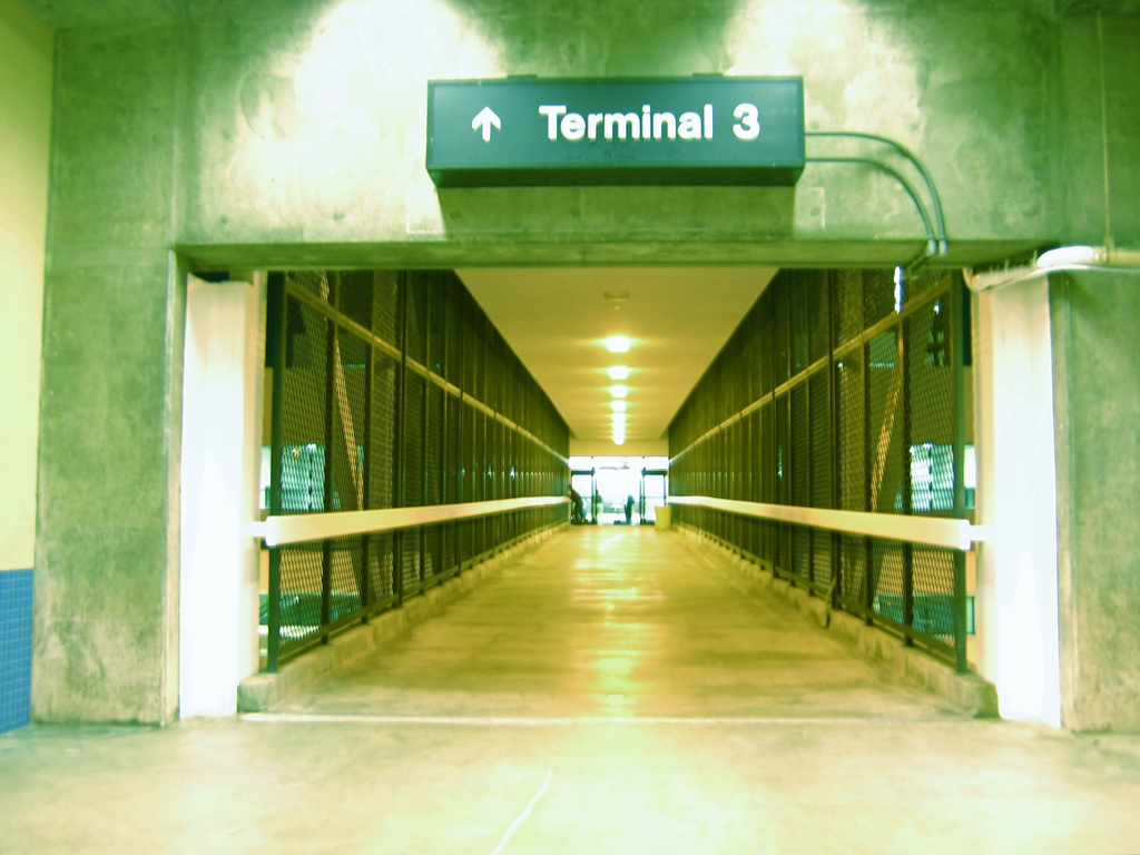 Terminal 3 at LAX. Flickr/Mike Ambs