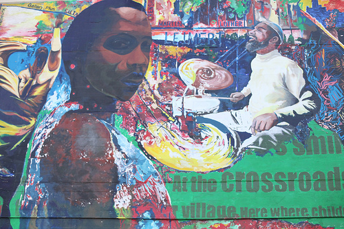 Leimert Park mural | Photo Credit: Stephanie Monte