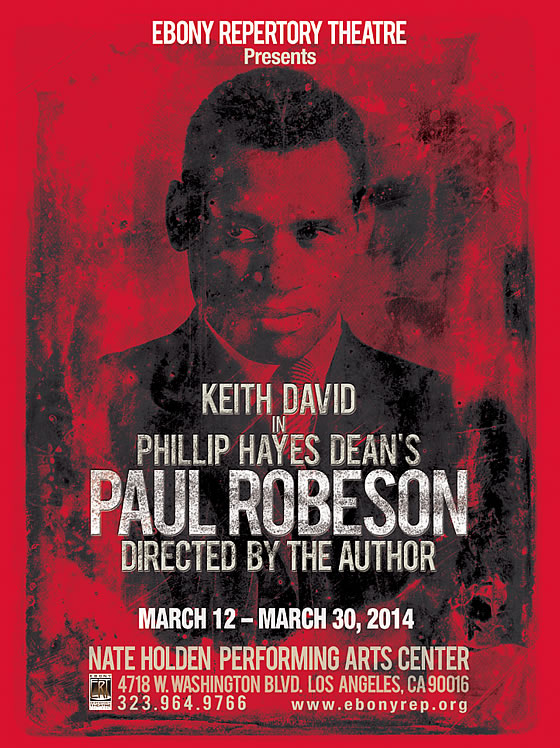 Keith David in Paul Robeson - Preview Night