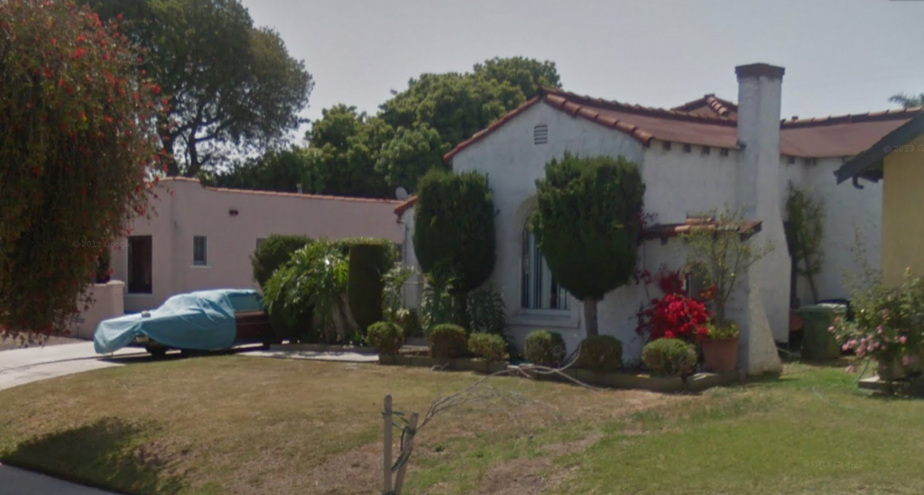 Patricia Cormack's residence in South L.A.'s Hyde Park. | Google Maps