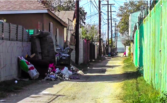 Green alleys to take root in South LA