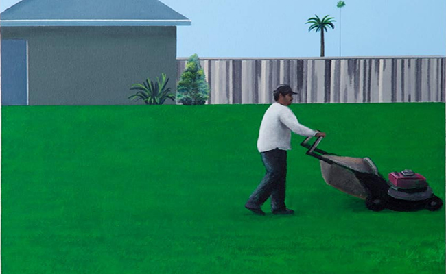 Artist Ramiro Gomez: Painting LA's 'invisible' workers