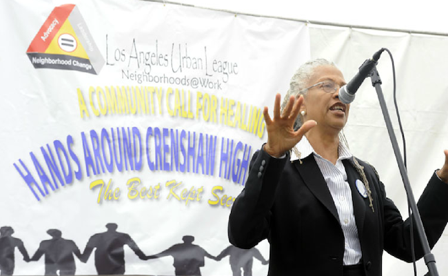 Hands Across Crenshaw High | Los Angeles Urban League