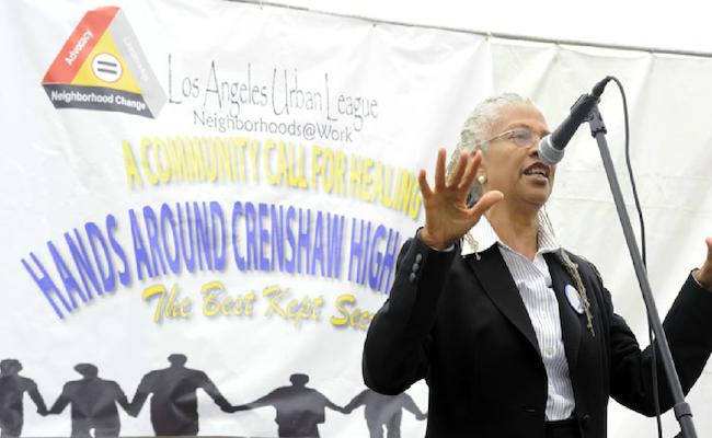 Hands Across Crenshaw High | Los Angeles Urban League
