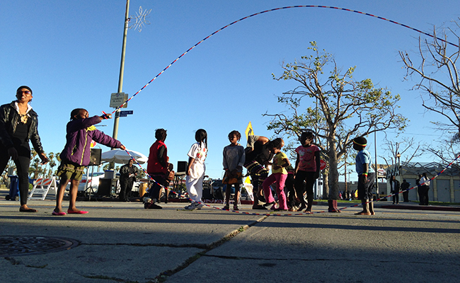Leimert Park is one of the areas included in District 8. | Intersections