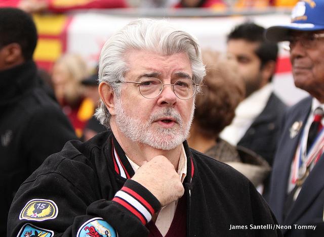 George Lucas | James Santelli/Neon Tommy