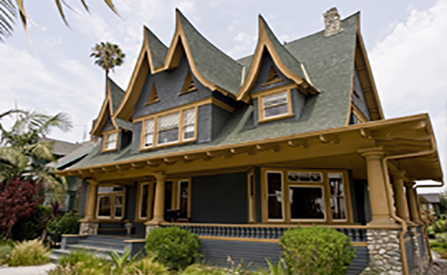 The fully-restored South Seas House | www.laparks.org
