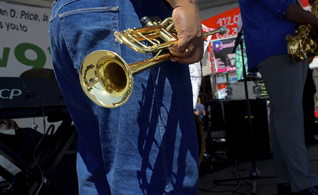 Sights and sounds from the Central Avenue Jazz Festival