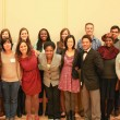 Mentors and mentees at Whitman College's first annual First Generation Mentorship Program Dinner in 2013.