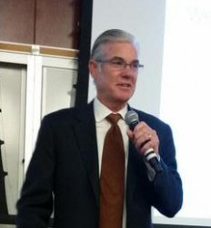 California Superintendent of Public Instruction Tom Torlakson at Demo Day. | Willa Seidenberg