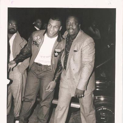 Robin Harris and Mike Tyson