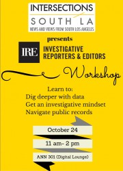 Investigative Reporters and Editors Workshop @ USC Annenberg