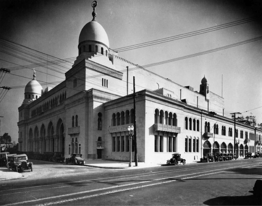The Shrine Auditorium in the 1920s | LA Public Library