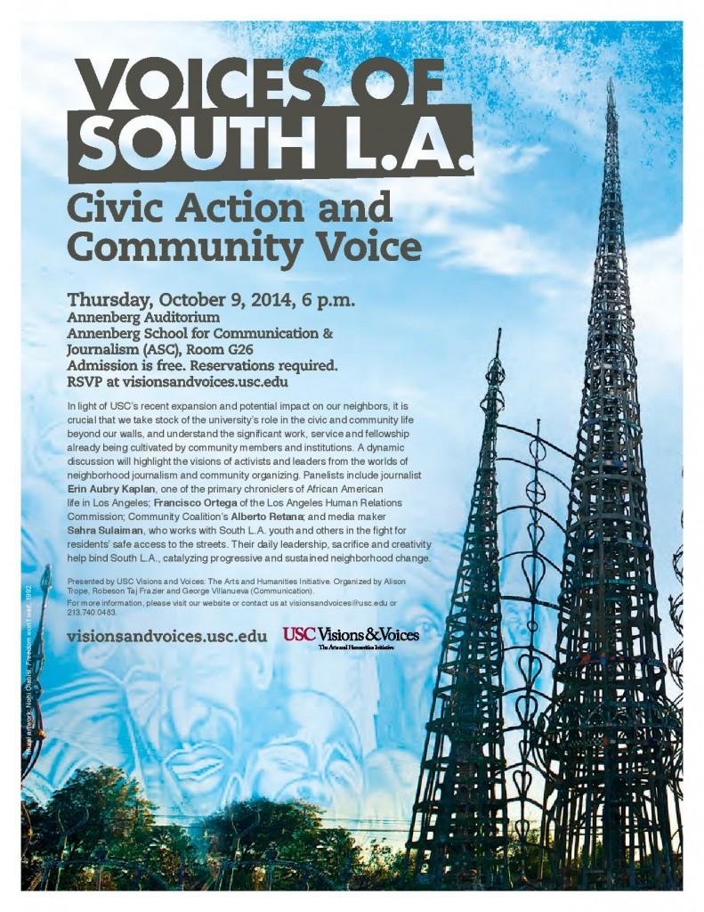 voices of south LA