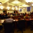 A packed house turned out at City Hall to discuss plans for the Budlong drill site. | Matt Tinoco