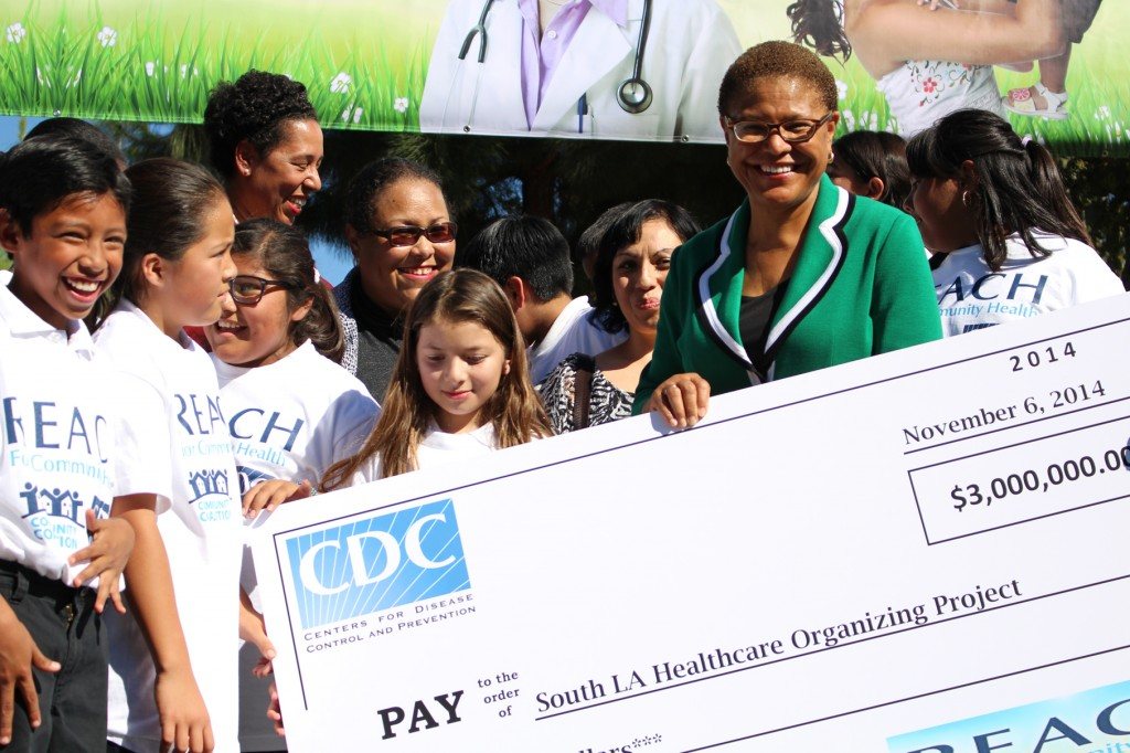 Karen Bass check CDC | Taylor Haney