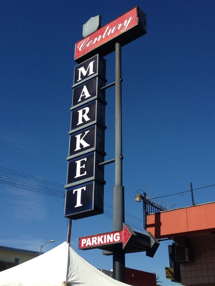 "The store's new sign boasts the word ""liquor"" and not ""market."" 
