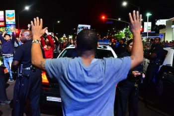 LA protests Ferguson grand jury decision | Charlie Magovern (Neon Tommy)