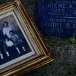 An undated family photo at Samuel B. Marlowe's grave in Inglewood. | latimes.com screenshot