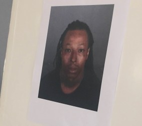 James Spells, suspect arrested in connection with the murder of Deshawnda Sanchez.