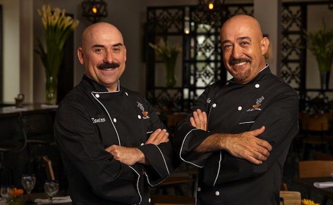Chefs Ramiro Arvizu and Jaime Martin del Campo (from left to right) | Photo courtesy of Mexicano restaurant.