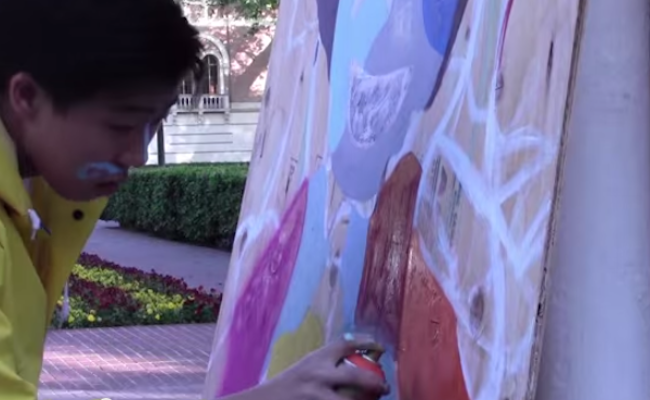 USC students and South LA residents unite with art