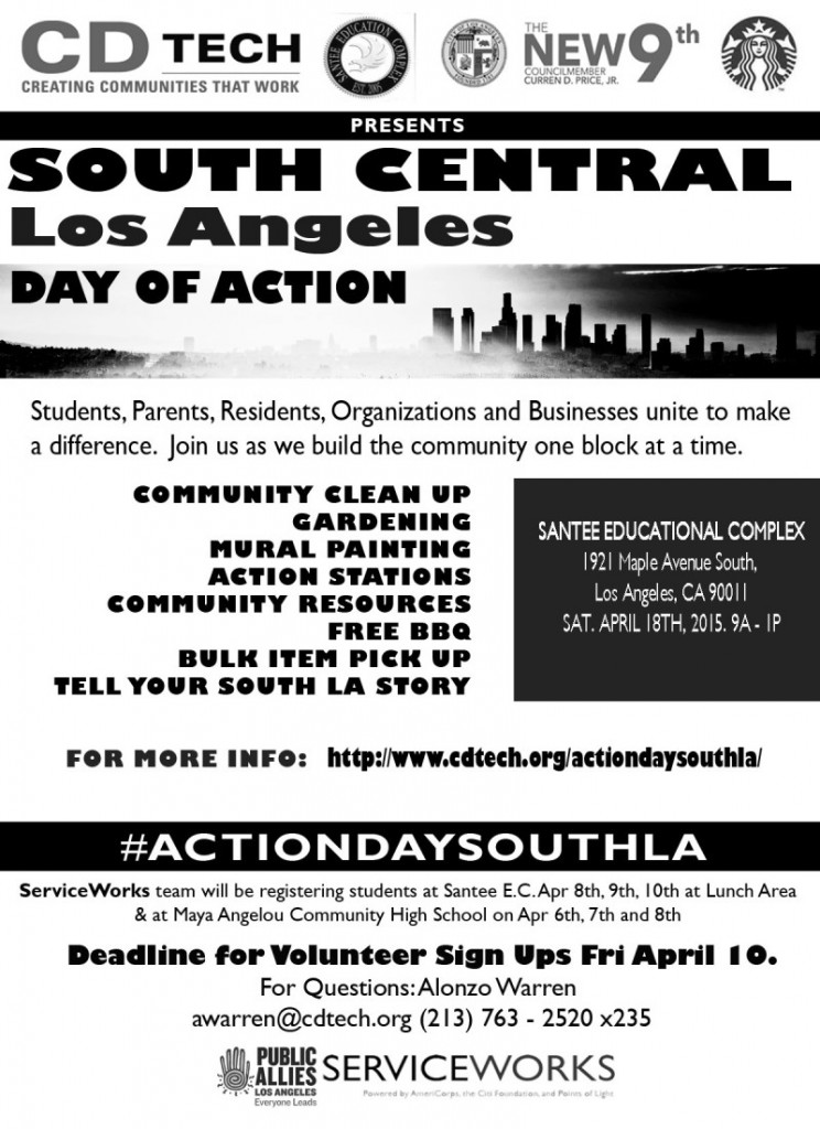 South Central Los Angeles Day of Action