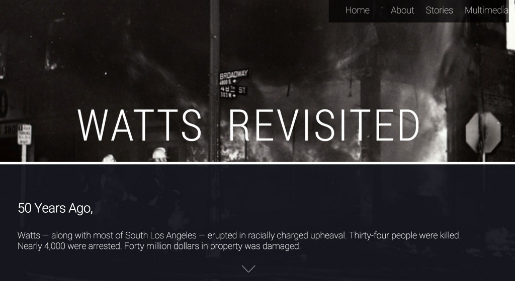 Visit the site at www.wattsrevisited.org.