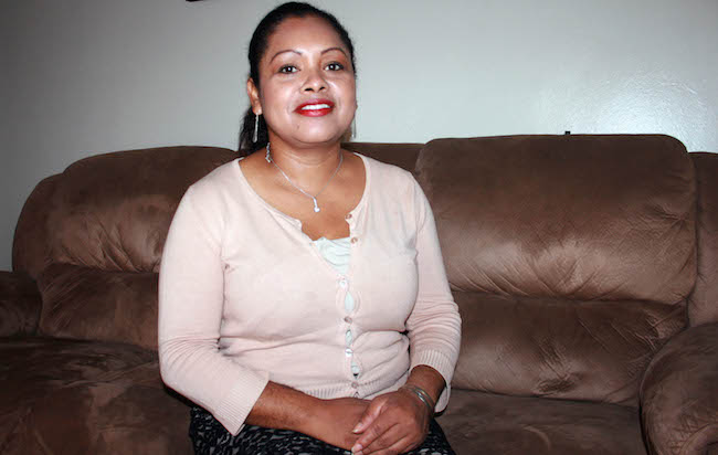 Juana Lopez had to move because her son Anthony was sick from asthma and the administrator of the building where she lived did not pay attention to her complaints.
