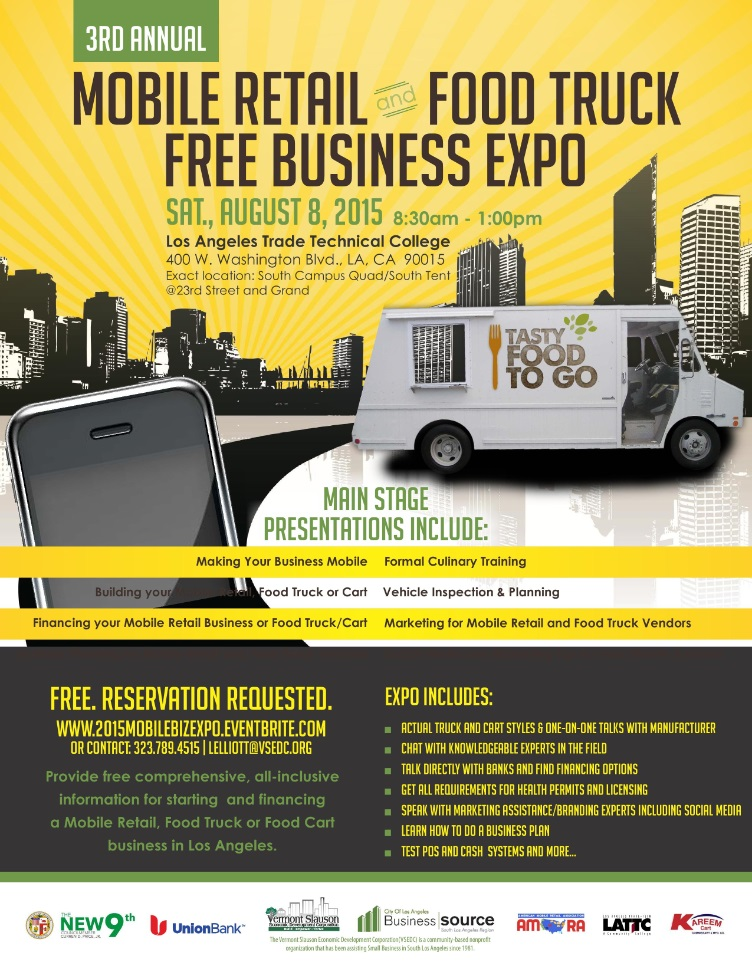 Mobile Retail & Food Truck Free Business Expo @ Los Angeles Trade Technical College | Los Angeles | California | United States