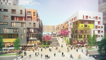 An image of the development that would be built in South LA.