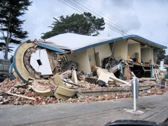 The destruction following the 2011 6.3 quake in Christchurch, New Zealand.| Martin Luff, Flickr Creative Commons