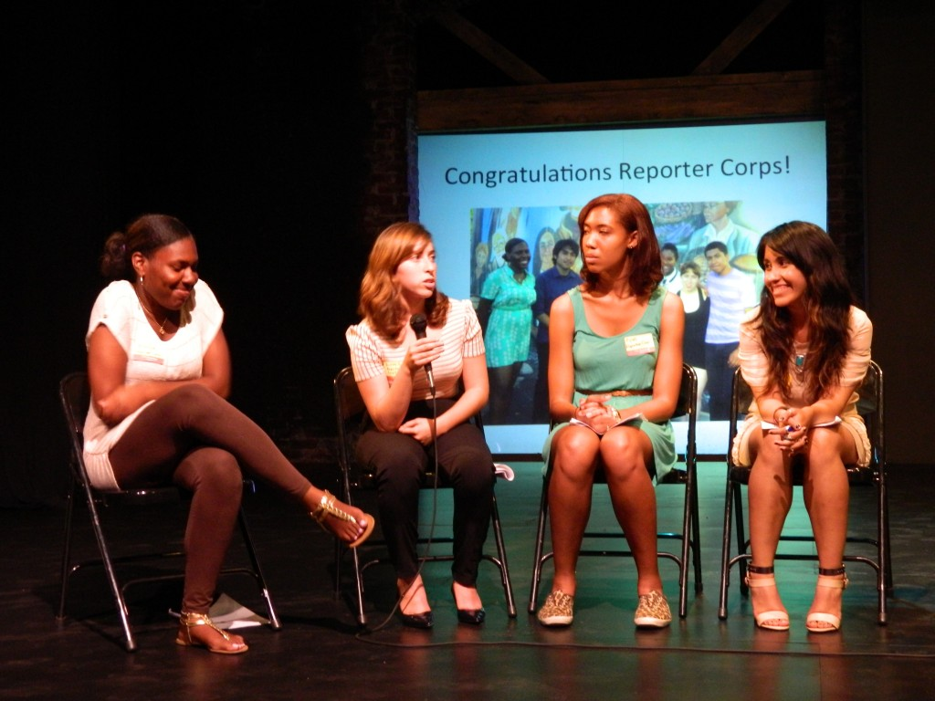 """A Night With Reporter Corps"" at the 24th Street Theatre, August 2013"