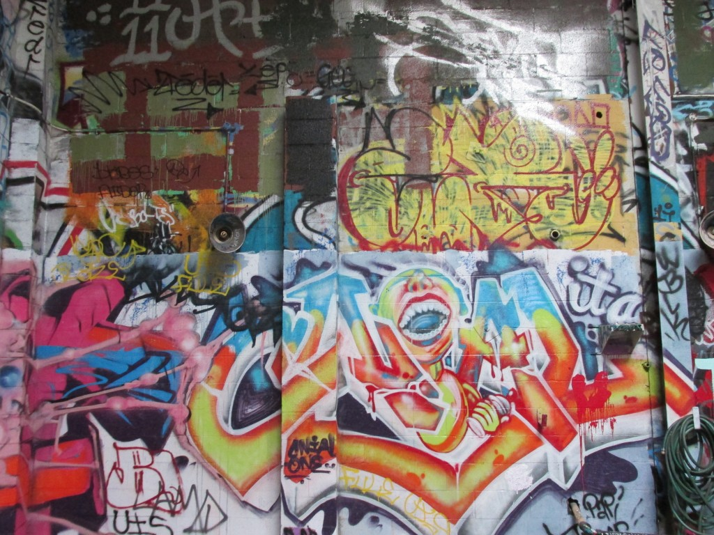 The graff lab is a place for students to practice their artwork. | Chuco's Art Center