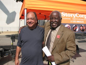 Actors Cheech Marin & Art Evans were in attendance
