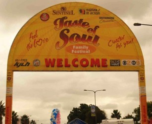 "The Taste of Soul street festival celebrates all things ""soulful"" and has been a South LA tradition for 8 years."