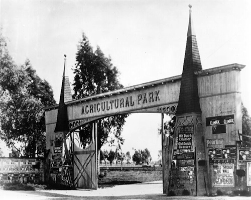 November 6th marked the 100th anniversary of Exposition Park  (originally Agricultural Park) | Courtesy of the Los Angeles Public Library