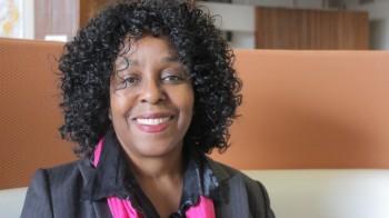 "Dr.  Brenda Stevenson, writer of ""The Contested Murder of Latasha Harlins"""