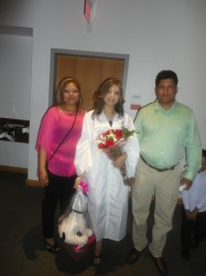 Miguel's sister, Yarisell Molina, high school graduation | June 2010