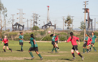 Oil Fields in Baldwin Hills | Photo Credit: The City Project