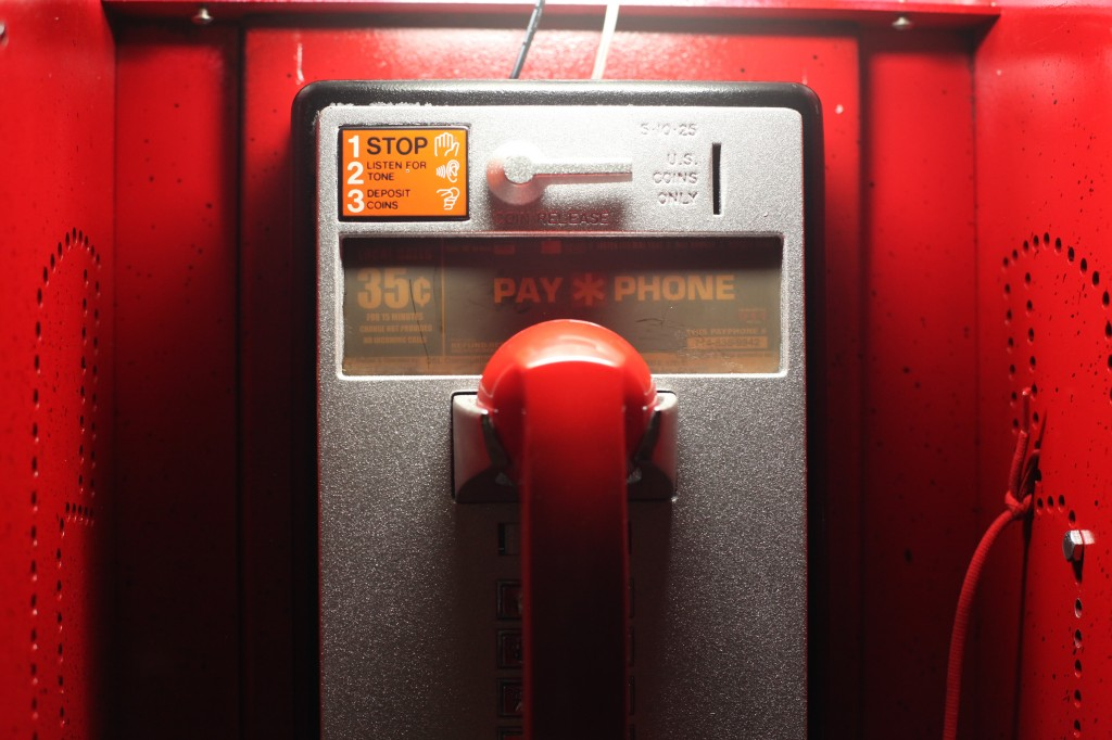Pay phone protoype